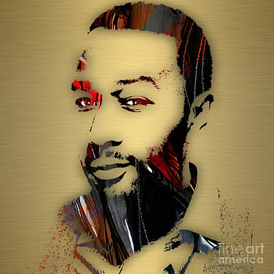 Poster Mixed Media - John Legend Collection by Marvin Blaine