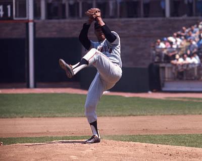 Los Angeles Dodgers Photograph - Juan Marichal by Retro Images Archive