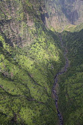 Photograph - Kauai Canyon by Steven Lapkin