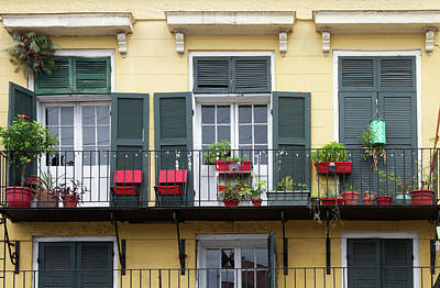 La, New Orleans, French Quarter Print by Jamie and Judy Wild