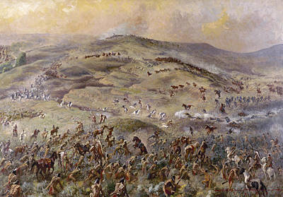 Painting - Little Bighorn, 1876 by Granger