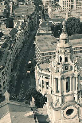 Photograph - London Rooftop View by Songquan Deng