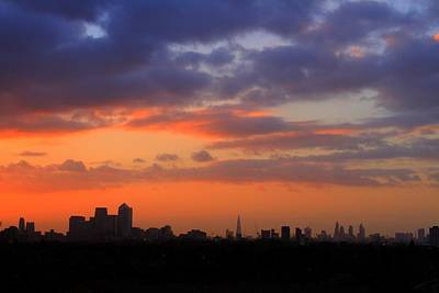 London Skyline Royalty-Free and Rights-Managed Images - London Skyline  by David French