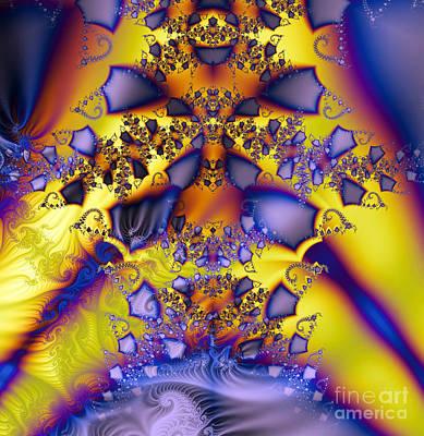 Sumac Flower Digital Art - Magical Fractal by Odon Czintos
