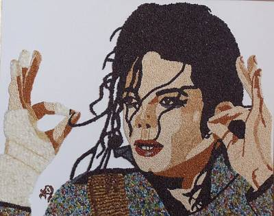 Michael Jackson Art Print by Kovats Daniela