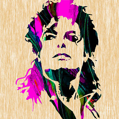 Michael Jackson Mixed Media - Michael Jackson Painting by Marvin Blaine