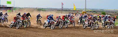 Jdm Photograph - Motocross by Martin Slotta