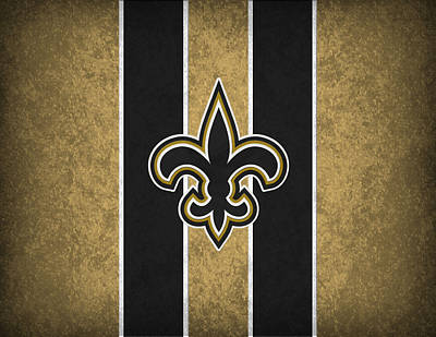 Saints Photograph - New Orleans Saints by Joe Hamilton