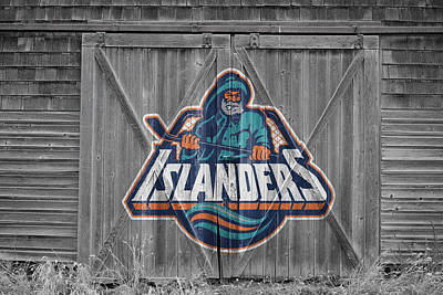 Photograph - New York Islanders by Joe Hamilton