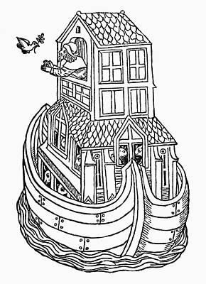 Noah's Ark Art Print by Granger