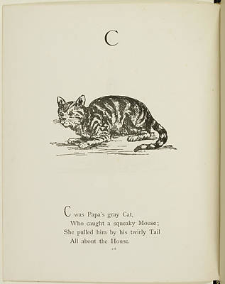 Edition Photograph - Nonsense Alphabets By Edward Lear by British Library