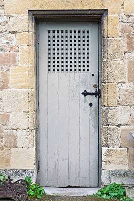 Dungeon Photograph - Old Door by Tom Gowanlock