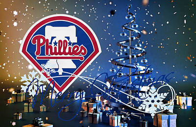 Philadelphia Phillies Art Print by Joe Hamilton