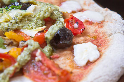 Italian Kitchen Photograph - Pizza by Tom Gowanlock