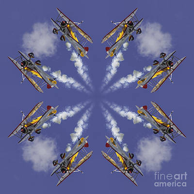 8 Planes Art Print by Jerry Fornarotto