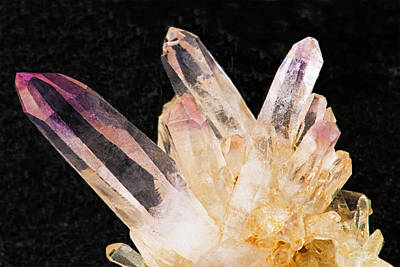 Photograph - Quartz Crystals by Millard H. Sharp