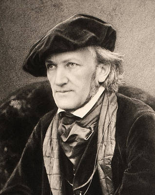 Photograph - Richard Wagner (1813-1883) by Granger