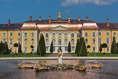 Russia, Saint Petersburg, Peterhof Art Print by Walter Bibikow