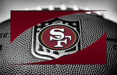 Offense Photograph - San Francisco 49ers by Joe Hamilton
