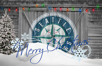 Mlb Photograph - Seattle Mariners by Joe Hamilton