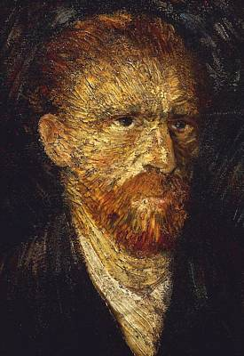 Portraits Painting - Self-portrait by Vincent van Gogh