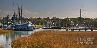 Photograph - Shem Creek Maritime by Dale Powell