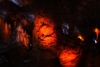 Photograph - Stalactite Cave by Doc Braham