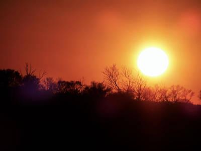 Sunset  Art Print by Girish J