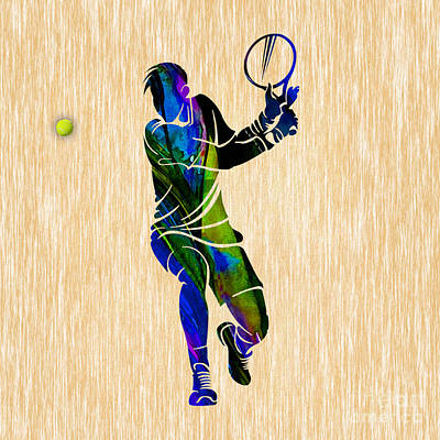 Mixed Media - Tennis by Marvin Blaine
