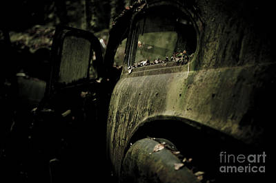 D700 Photograph - The Car Cemetery by Geir Kristiansen