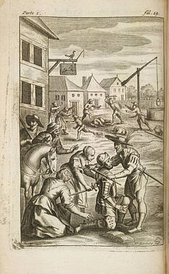 The History Of Don Quixote Print by British Library
