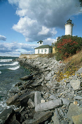 Photograph - Tibbetts Point Lighthouse, Ny by Bruce Roberts