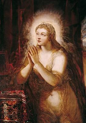Sacred Feminine Art Photograph - Tintoretto, Jacopo Robusti, Called Il by Everett