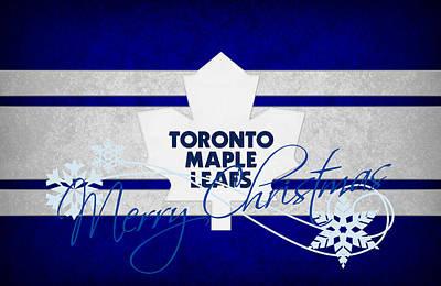 Skate Photograph - Toronto Maple Leafs by Joe Hamilton