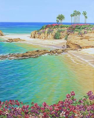 Painting - Treasure Island Beach by Jane Girardot