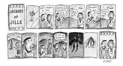 New Yorker January 23rd, 2017 Art Print