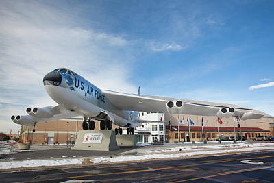 Air And Space Museum Photograph - Usa, Colorado, Denver, Wings by Walter Bibikow