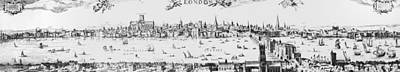 Visscher London, 1616 Art Print by Granger