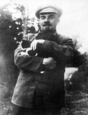 Vladimir Lenin (1870-1924) Art Print by Granger