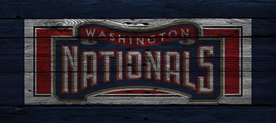 Washington Nationals Art Print by Joe Hamilton