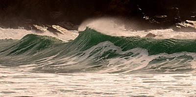 Waves Art Print by Barbara Walsh