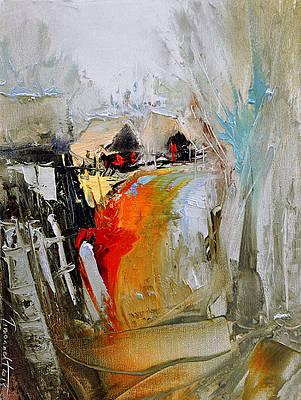 Painting - Way Home - Serie by David Figielek