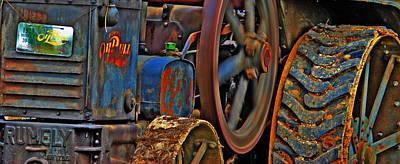 Wheels Of Time Art Print by Rowana Ray