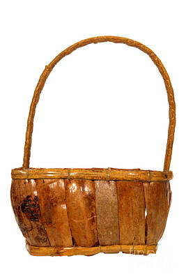 Photograph - Wicker Basket Number Five by Olivier Le Queinec