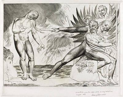 William Blake British, 1757 - 1827, The Circle Art Print by Quint Lox
