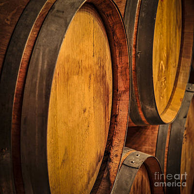 Cask Photograph - Wine Barrels by Elena Elisseeva