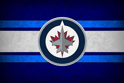 Winnipeg Photograph - Winnipeg Jets by Joe Hamilton