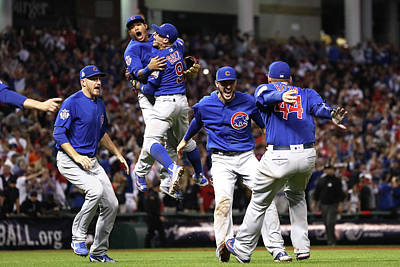 Ohio Photograph - World Series - Chicago Cubs V Cleveland by Ezra Shaw