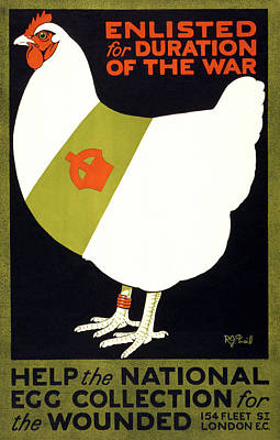 Drawing - Wwi Poster, 1915 by Granger
