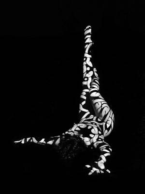 Photograph - 8079 Experimental Nude Abstract by Chris Maher